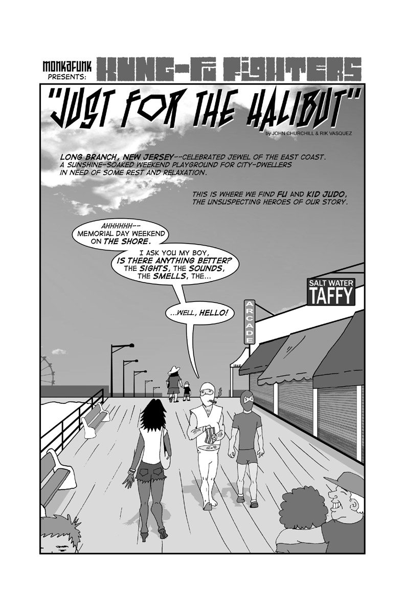 Issue #1 - Pg 1